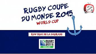 #RWC2015 : Ambiance Garantie sur les Bateaux toulousains